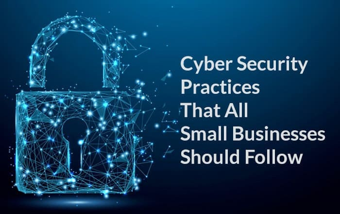 Cyber Security Practices That All Small Businesses Should Follow