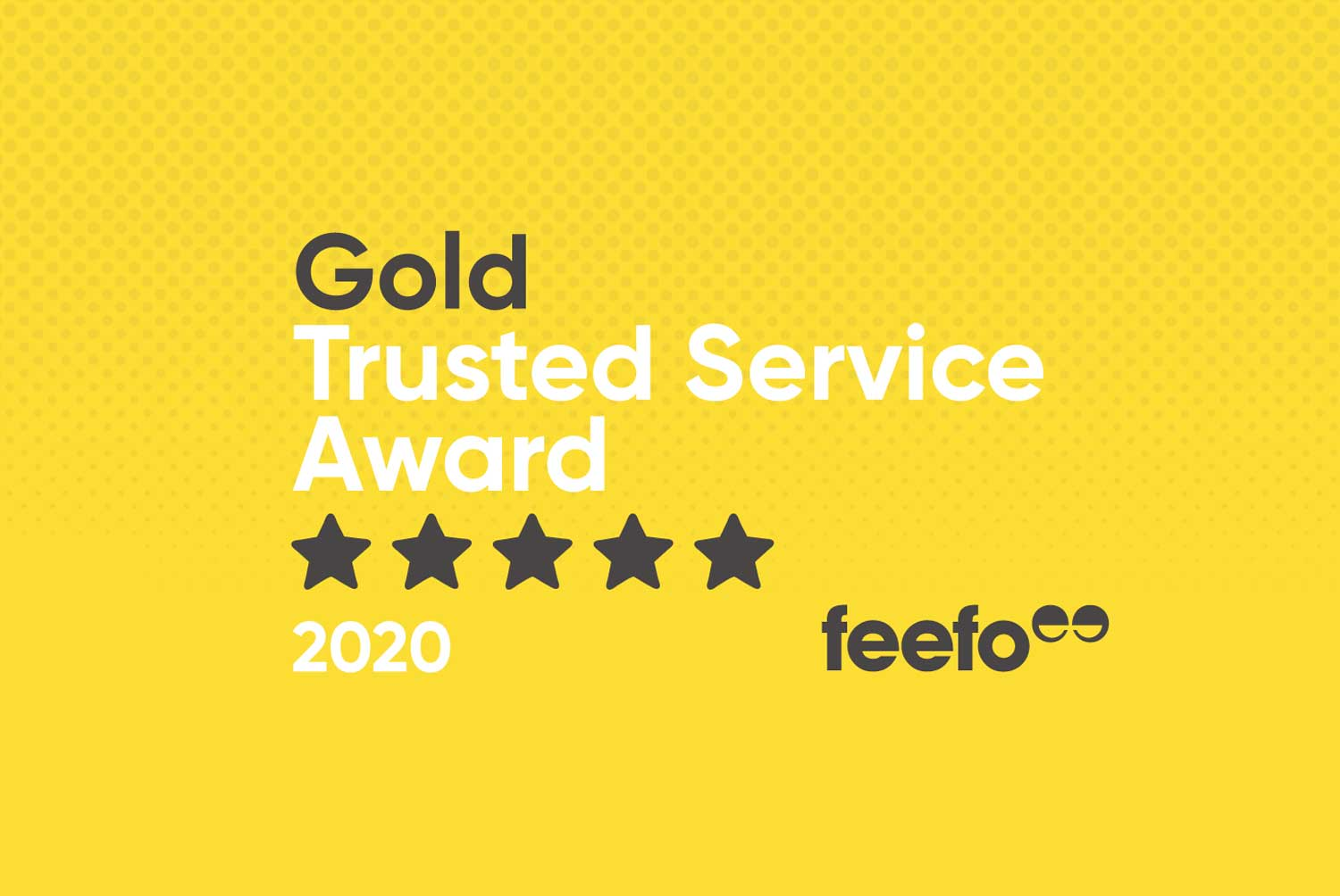 totality services make it two Feefo Gold Trusted Service Awards in a row for customer service